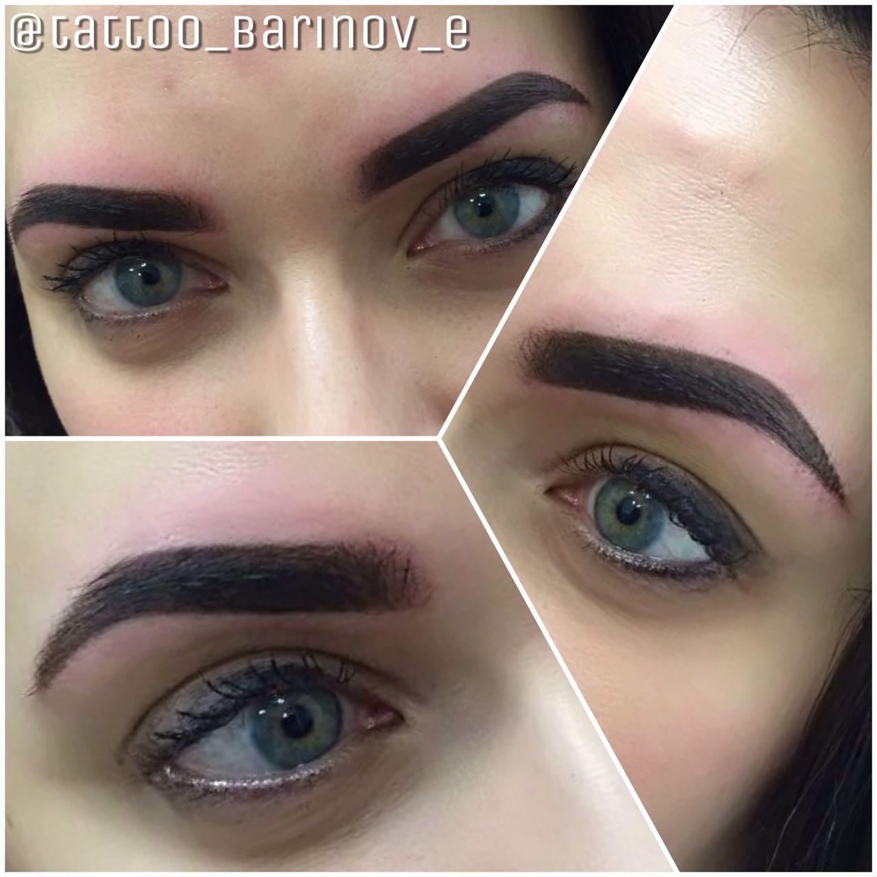 Татуаж, перманентный макияж, перманентный макияж 7